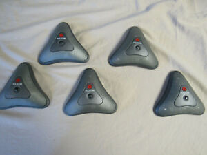 Lot Of 5 Polycom Conferencing Microphone 2201 20250 203