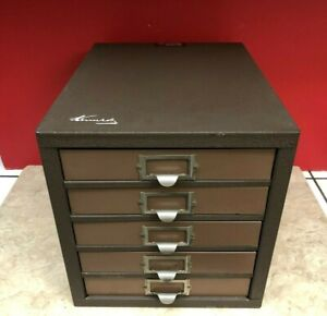 Rare Vintage Kennedy 5 d 5 drawer Machinist Tool Box Cabinet Parts Bin