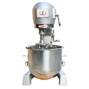 Commercial Dough Food Mixer Pizza Bakery Three Speed 20l Multifunction Stand Mix
