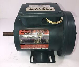 Reliance Electric Duty Master A c Motor S 2000 1 Hp 3 Phase P56h1303u