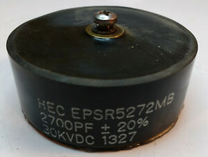 Hec Epsr5272mb High Voltage Ceramic Capacitor 2700pf 20 30kvdc