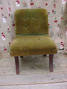 Antique Salesmans Sample Empire Chair Faint Couch Childs