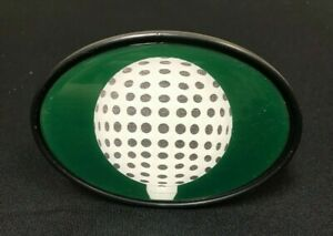 2 Tow Trailer Hitch Cover Plug Insert Colored Golf Ball Image New
