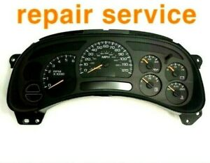 Repair Service 03 06 Gm Instrument Cluster Gauge Stepper Motor