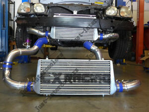 Cxracing Intercooler Kit Bov For 98 05 Lexus Gs300 2jz Gte Swap Stock Turbo
