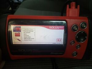 Snap on Solus Pro Scanner eesc316 Version 14 4 Pre owned