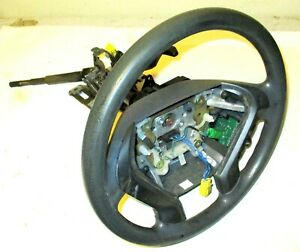 03 04 Honda Element Oem Steering Wheel W Cruise Column 53200 78501 Gray Steer