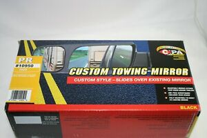 Cipa Custom Towing Rearview Mirrors 4 25 X 5 75 For 2014 2018 Chevy gmc