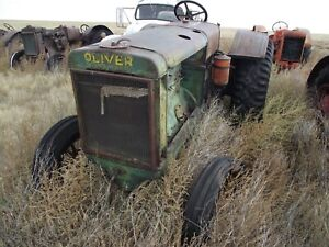Oliver 80 Antique Tractor