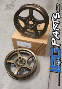 Lenso Xpd Bronze Drag Skinnies Wheels 15x3 5 4x100 For Civic Integra Crx Rims
