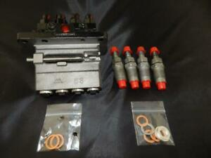 Reman Bobcat Injection Pump And Injector Kit 6674676 Pump Core Refund 140 00