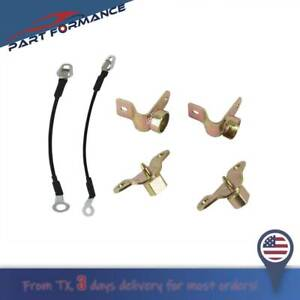 6pcs Left Right Tailgate Hinges Cables Kit For Chevrolet Silverado Gmc Sierra