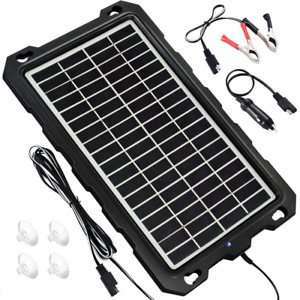 Solar Battery Charger Car 7 5w 12v Trickle For Portable And Waterproof Maintai