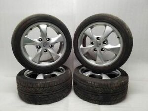 2001 2002 2003 Porsche Boxster 17x7 5 Spoke Wheel Rim Set