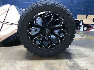 20x10 Fuel D546 Assault 33 Mt Wheel Tire Package 6x135 Ford F150 Expedition