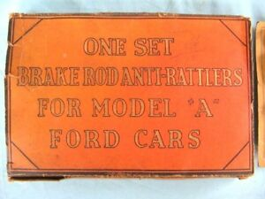 Offer Rare Ford Model A brake Rod Anti rattlers Set lqqk nice Display