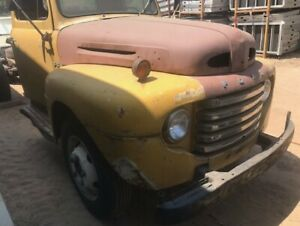 1948 To 1950 Ford Truck Clip 48 49 50 Pick Up Front End Sheetmetal Grille
