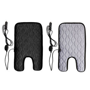 Non Slip 12v Car Baby Winter Car Seat Cover Carbon Fiber Heated Seat Heater N7z6