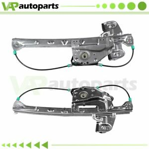 Power Window Regulator For 2000 2005 Cadillac Deville Rear Rh Lh W O Motor