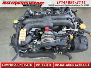 06 07 08 09 10 11 Jdm Wrx Engine Subaru Turbo Ej20 Replacement Ej25 2 5l