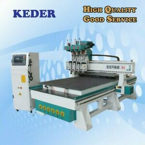 Cnc Router 4 8 1325 Four Spindles Woodwork Engrave Milling Furniture Machine