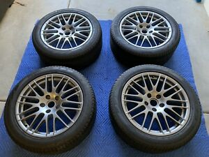 20 Oem Factory Porsche Cayenne Rs Spyder Wheels Rims Tires Part 7p5601025n