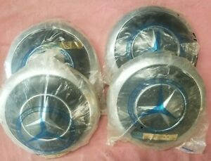 Genuine Mercedes benz Wheel Covers 186 401 00 25 Original New Old Stock Qty 4