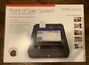 Royal Consumer Pos1500 Point Of Sale Cash Management System