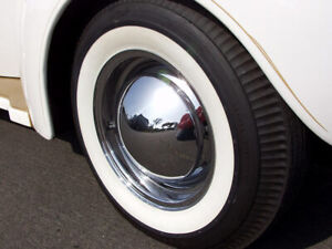 Atlas 15 Inch Wheel White Wall 2 2 Set Of4 Tyre Insert Trim Baby Moon Type