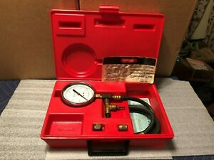 Snap On Tools Mt337a Fuel Pressure Tester Automotive Tool