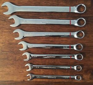 Kobalt Combination Wrench Set 12pt Box End Open End