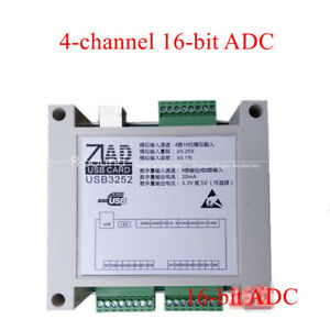 Usb Data Acquisition Card With Shell 4 Road 16 Bit Adc 8 Road Di 8 Do 16 Bit Ad