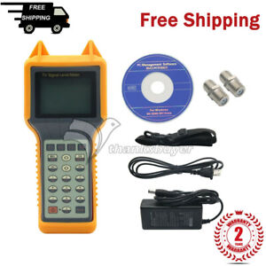 Ry200d Digital Tv Signal Level Meter Tester Catv Cable Testing 5mhz 870mhz Th