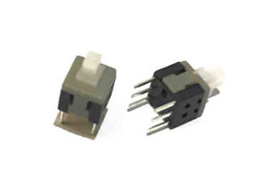 50pcs Mini Tiny On Off Switch Momentary Key Push Button 5 8 X 5 8mm For Electric