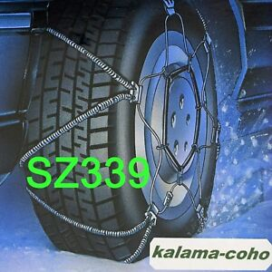 Les Schwab Shur Grip Cable Tire Snow Z Chains Ls339