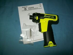 New Snap On Lithium Ion Cts761ahvdb 14 4v 1 4 Hex Cordless Hex Screwdriver