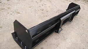 Linville 8ft Snow Pusher Skid Steer Lifetime Warranty Made Usa Local Pickup