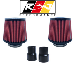 R3j Dci Air Filter Intake Bi Turbo Dual Cone Bmw N54 135i 335i E90 E92 E82 E87