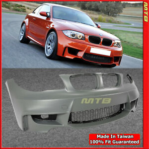 1m Style Front Bumper Fog Covers For Bmw 1 Series 2008 2013 E82 E88 128i 135i