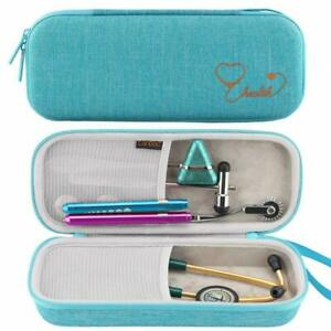 Canboc Stethoscope Carrying Case For 3m Littmann Classic Iii cardiology Iv Steth