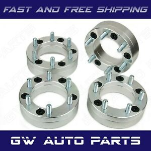 4 Wheel Adapters 5x5 To 6x5 5 6 Lug Wheels On 5 Lug Car 2 12x1 5 Fit Jeep