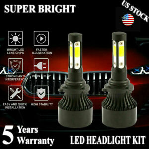 4 Sides 9006 Hb4 2000w 420000lm Led Headlight Bulbs Light 6000k Lamps High Power