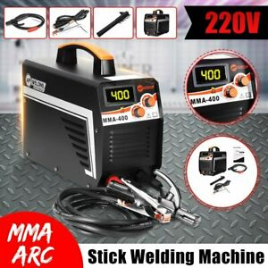 Digital 220v 400a Mma Arc Electric Welding Machine Dc Igbt Inverter Stick Welder