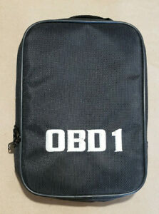 Equus Innova Code Reader Tool Obd1 Adapter Carry Case Only Last One