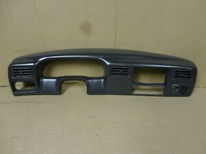 98 04 Ford Superduty Speedometer Dash Radio Gauge Cluster Trim Bezel Cover