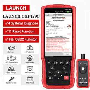 Launch X431 Crp429c Obd2 Scanner Abs Srs Code Reader Automotive Diagnostic Tool
