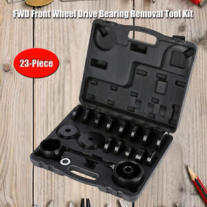 23 Front Wheel Bearing Press Tool Removal Adapter Puller Kit New