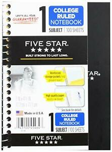 12 Pack Of Mead Five Star Personal Spiral Notebook 7 X 4 3 8 100 Sheets Col