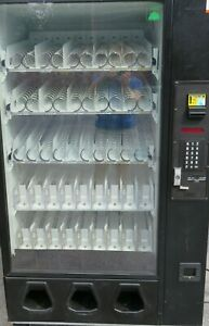 Dixie Narco Entray Combination Snack cold Drink Vending Machine