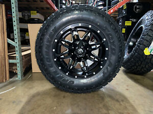 18x9 Fuel D567 Lethal Wheels Rims Tires 33 Toyo At 6x135 Ford F150 Expedition